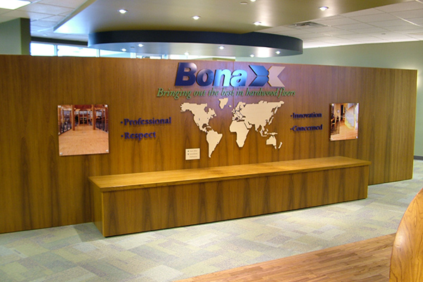 Corporate environment display