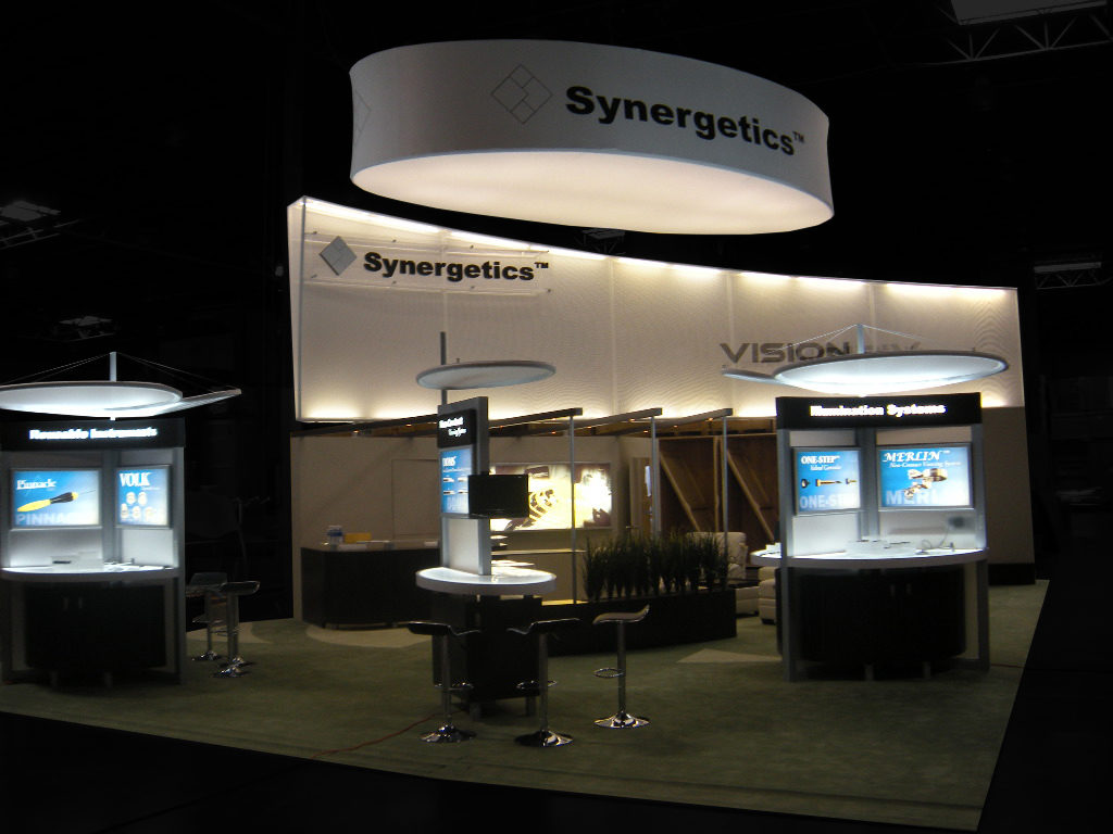 Custom exhibit booth