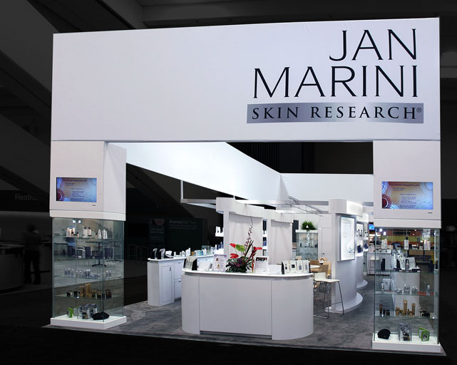 Trade show design Jan Marini
