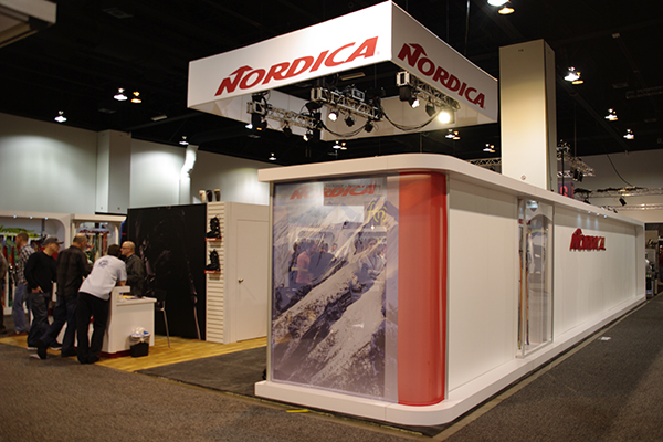 indoor exhibit booth