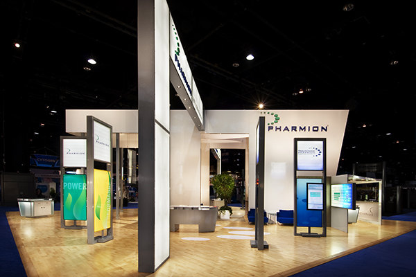 Pharmion 60x60 Custom Exhibit