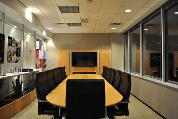 Corporate environment conference room