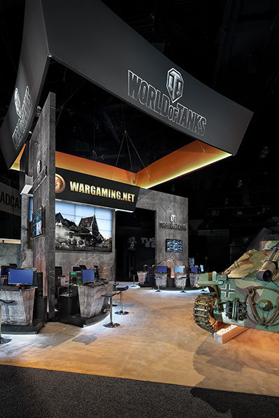 Wargaming Trade Show Exhibit Las Vegas