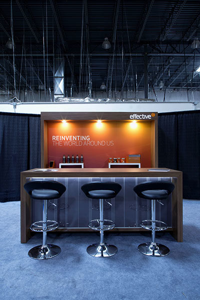 Trade Show Backwall Rental Furniture