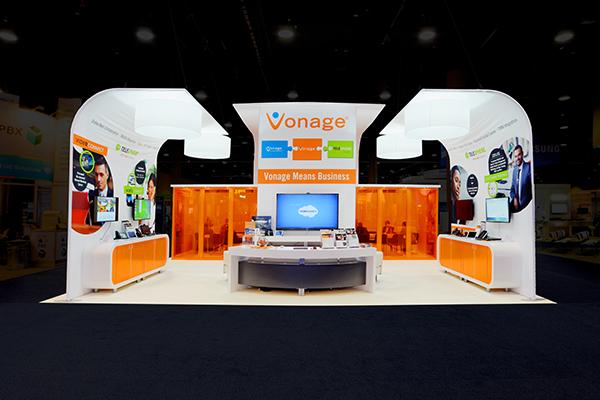 Enterprise Connect Custom Trade Show Exhibit