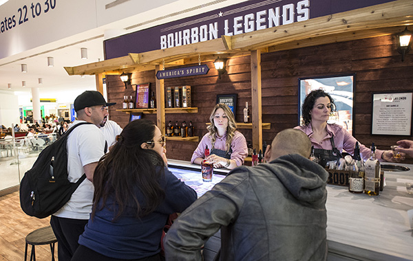 Bourbon Legends trade show exhibit