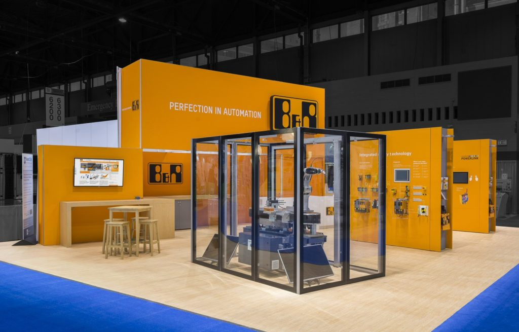 PG Exhibits trade show display design