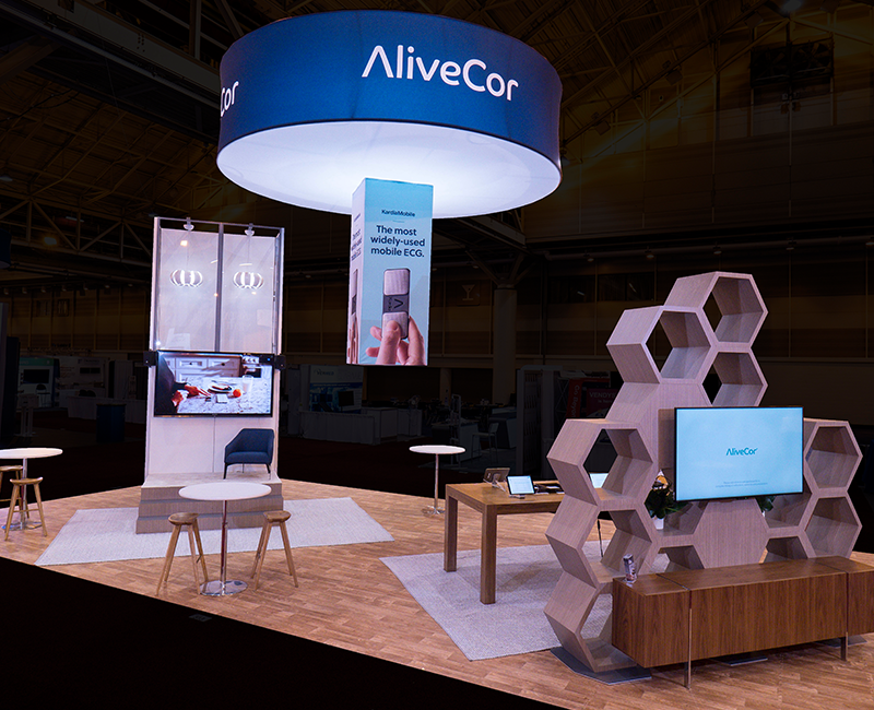 Alivecor Exhibit at AAC 2019