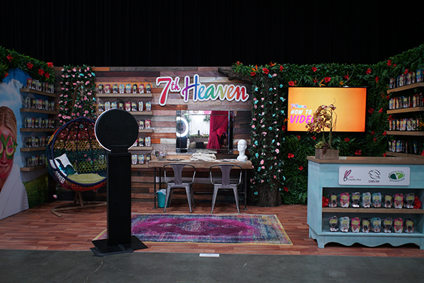 7th Heaven Beauty Con Exhibit