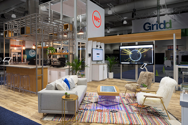 WeWork Exhibit at CoreNet Global 2018