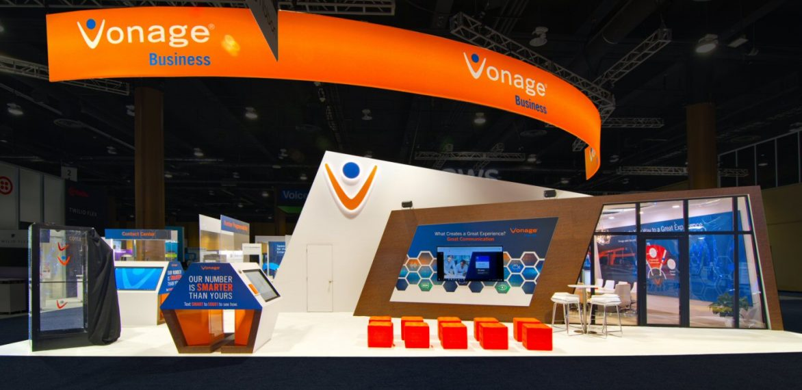 Vonage Wins Best in Show for Exhibit Design Two Years in a Row